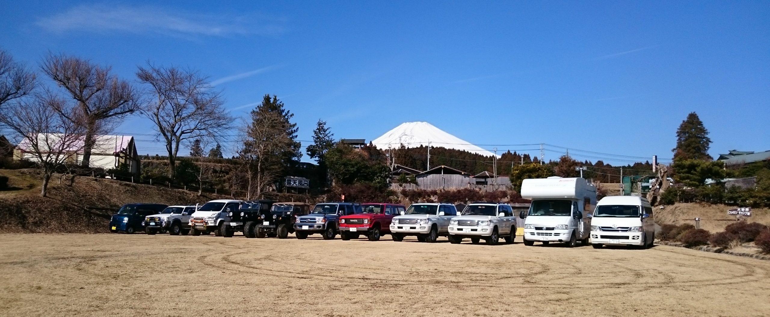 SUVで通じた仲間とファミリーでキャンプを楽しみませんか